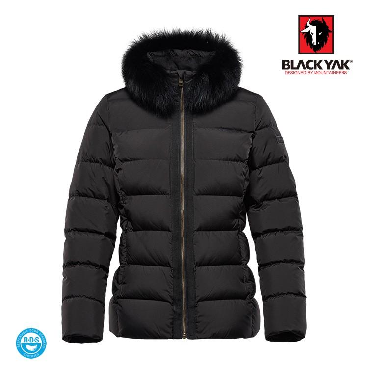 【BLACK YAK】女PORTVELL時尚羽絨外套[黑色]羽絨外套 |BYIA2WJ40295