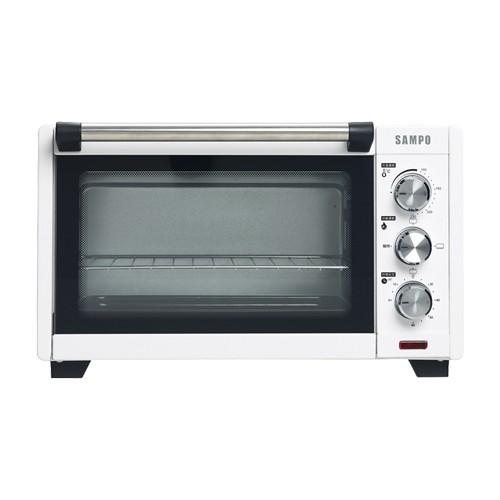 SAMPO 聲寶 KZ-XD20 20L 雙層耐熱 玻璃烤箱 不鏽鋼發熱管