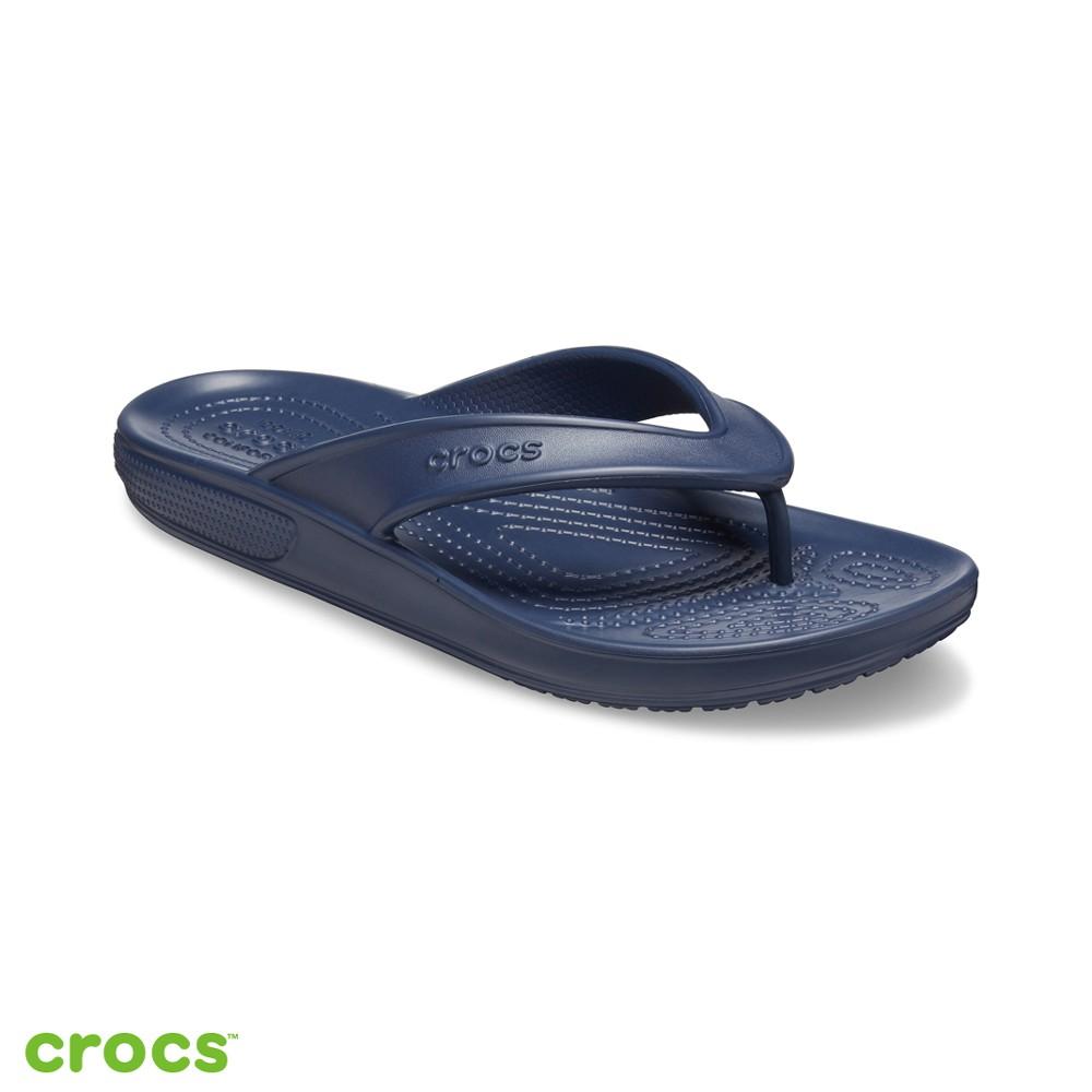 Crocs卡駱馳 (中性鞋) 經典人字拖-206119-410
