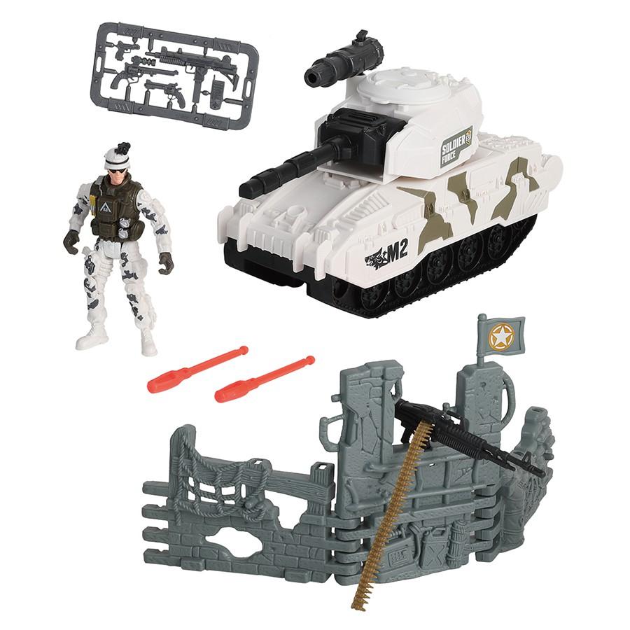 Rescue Force 雪地坦克組 玩具反斗城