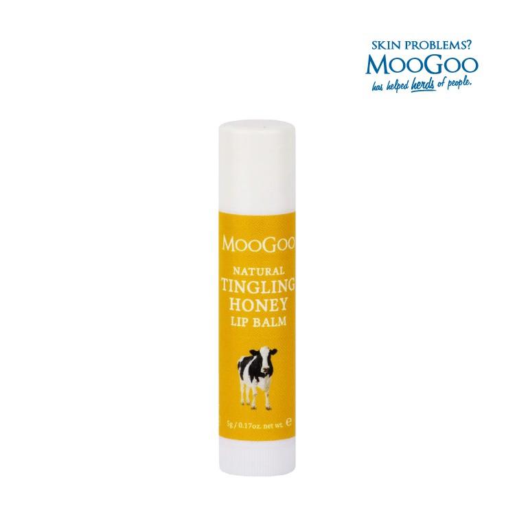 MooGoo慕爾果 蜂蜜沁涼護唇膏 5g