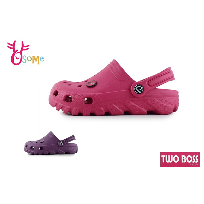TWOBOSS 防水布希鞋洞洞鞋 成人女款台灣製 2XS-L【共二款】H5843 .I5500 奧森鞋業