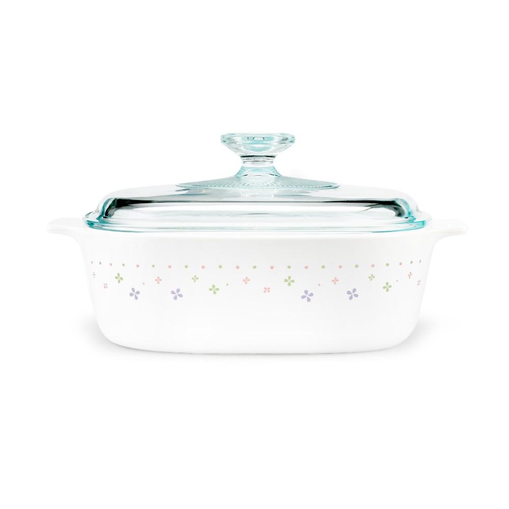 【康寧餐廚】星光熠熠1L方形康寧鍋|贈好禮3選1|
