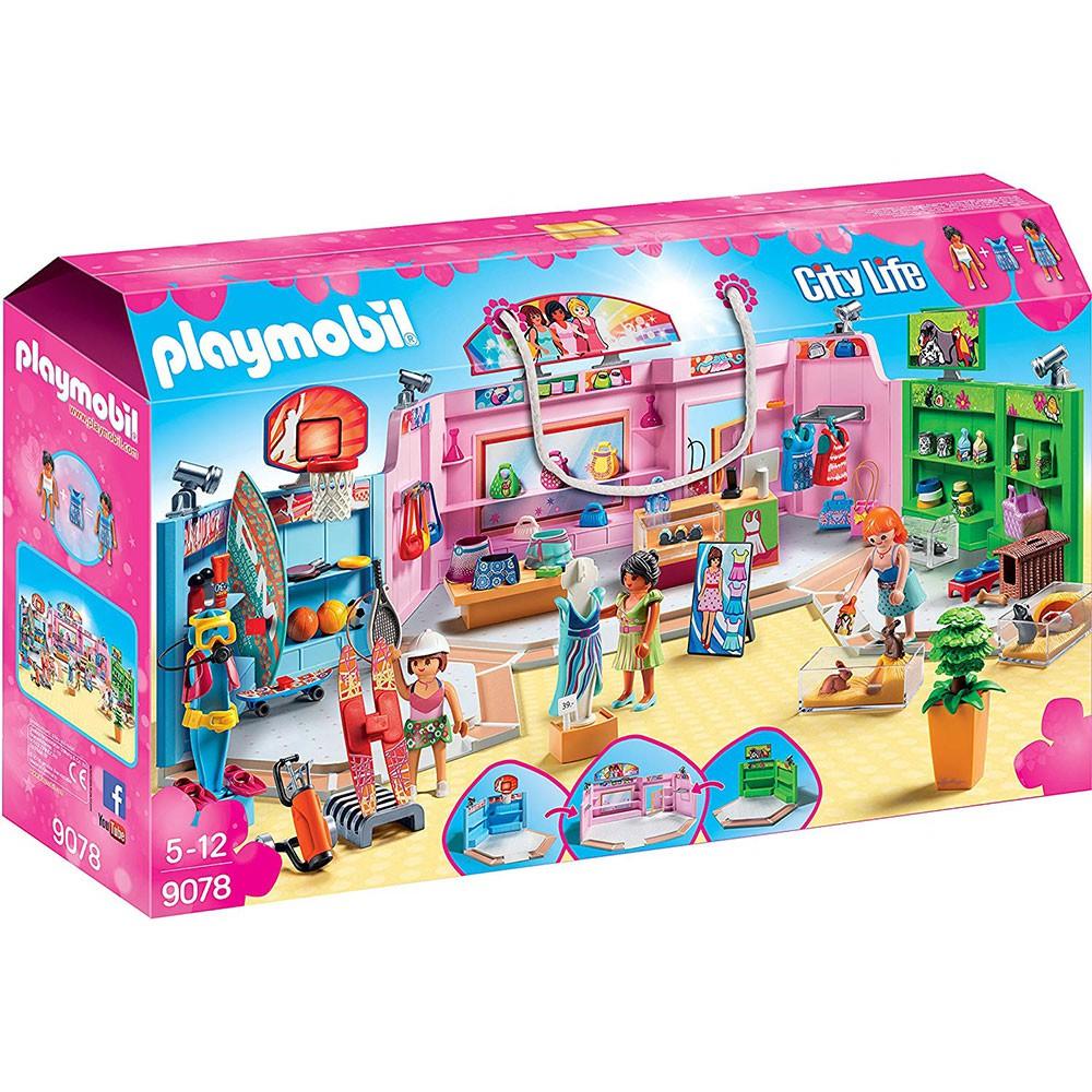 playmobil 購物趣 購物廣場
