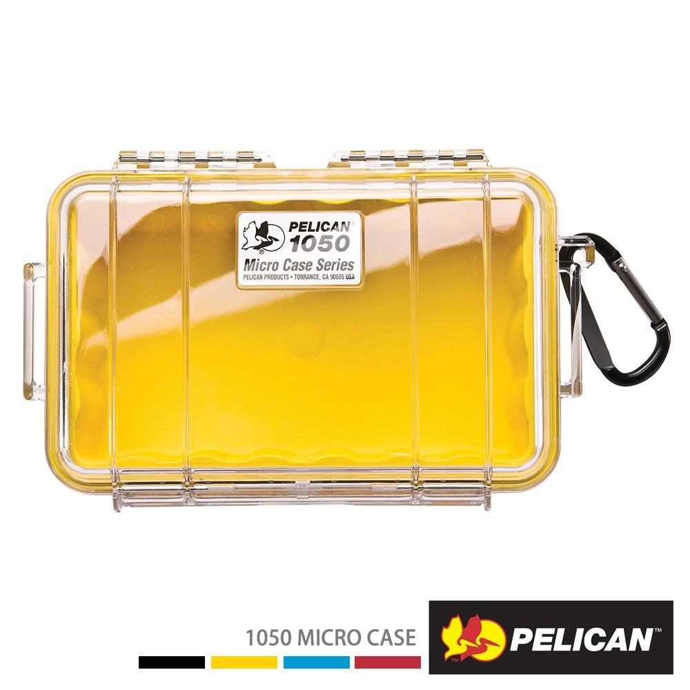 PELICAN 派力肯 1050 Micro Case 微型防水氣密箱 - 透明/黃