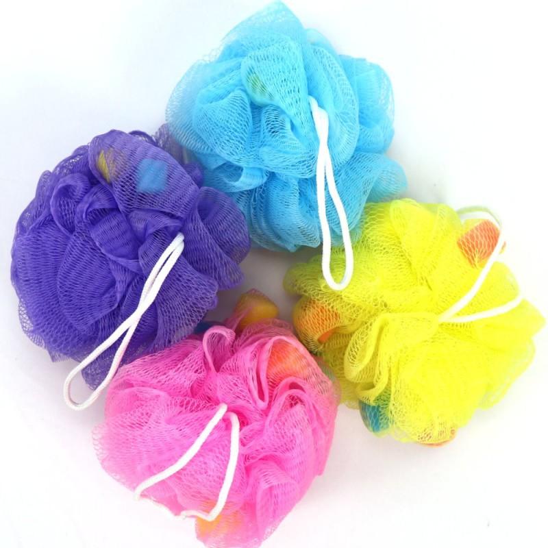 兒童繽紛網狀沐浴球/泡泡球(裸裝隨機出貨)