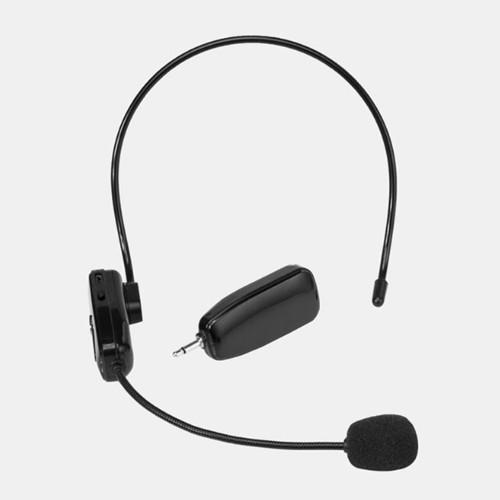 頭戴式無線麥克風 隨插即用 免配對 老師 學校 教學 賣場 超長距離 絕無干擾 80米