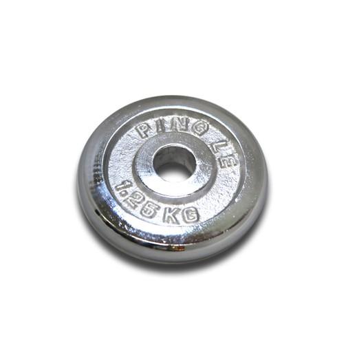 啞鈴電鍍槓片(孔徑2.5公分/ 孔徑2.8公分) 單片販售 槓鈴片 啞鈴片【1313健康館】超過5kg超商不受理