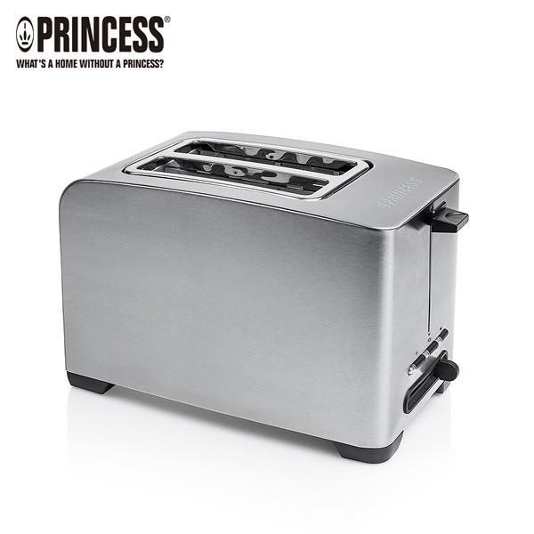 PRINCESS-荷蘭公主不鏽鋼多功能烤麵包機(附烘烤架) 142356