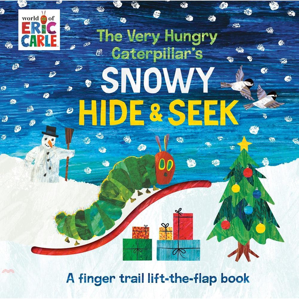 The Very Hungry Caterpillar's Snowy Hide & Seek: A【三民網路書店】
