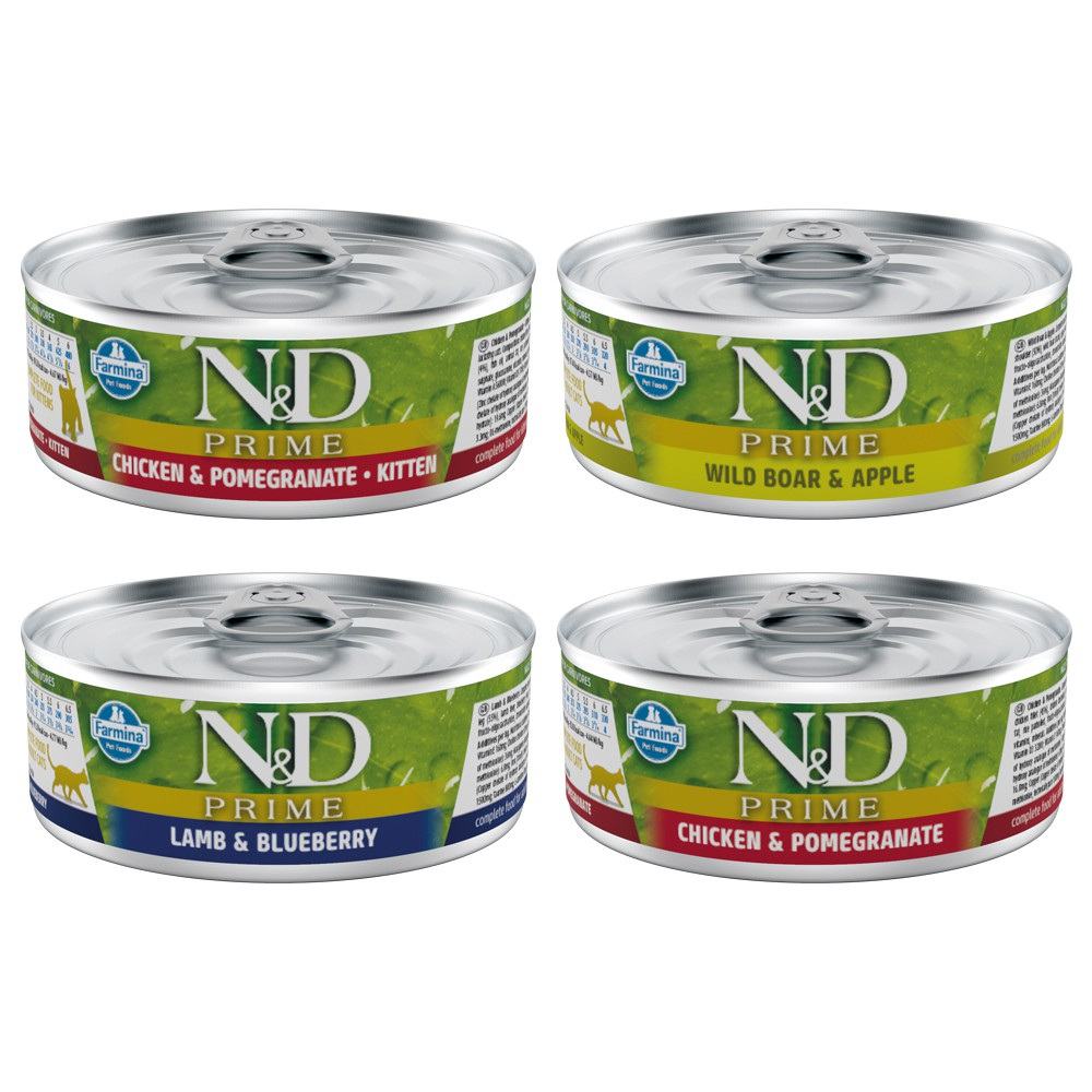 Famina法米納|ND天然頂級貓用主食罐80g
