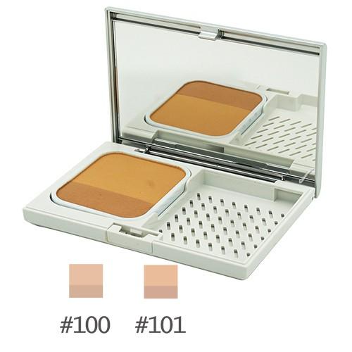 【專櫃正品】IPSA茵芙莎 誘光控油雙色粉餅SPF25PA++(8g)+粉盒[2色]