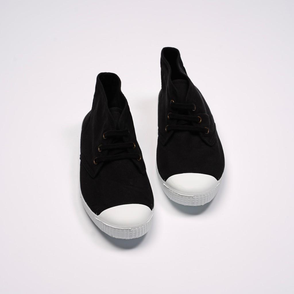 CIENTA 西班牙帆布鞋 60997 01 黑色 經典布料 大人 Chukka