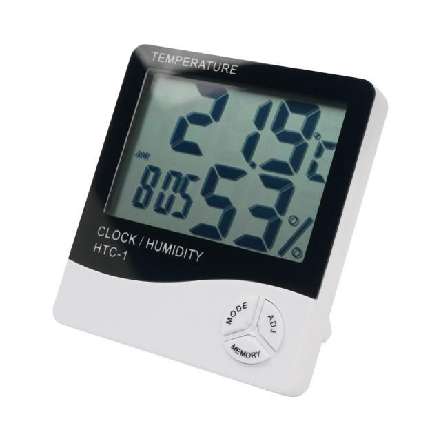 單色LED多功能電子時鐘掛鐘-黑白 背光LED多功能電子時鐘
