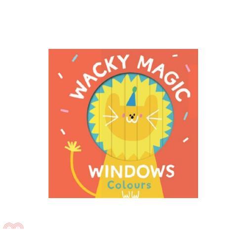 Wacky Windows: Colours (百葉窗書)【三民網路書店】(硬頁書)[79折]