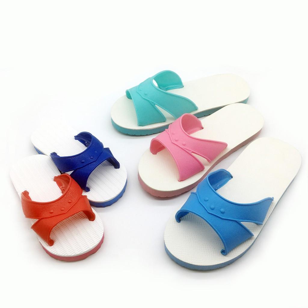 【iSlippers】台灣製造-成人/兒童藍白拖-H拖任選-5雙$360