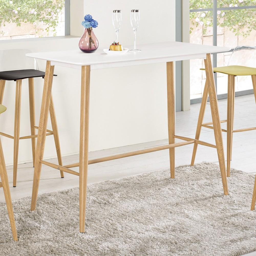 Boden-維琪4尺簡約吧台桌/洽談桌/休閒桌