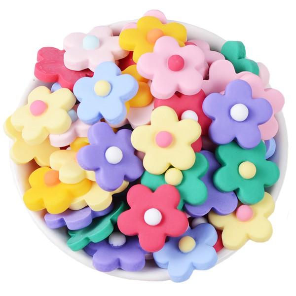 裝飾小花(大號/小號) 樹脂花朵DIY配件 手工藝材料