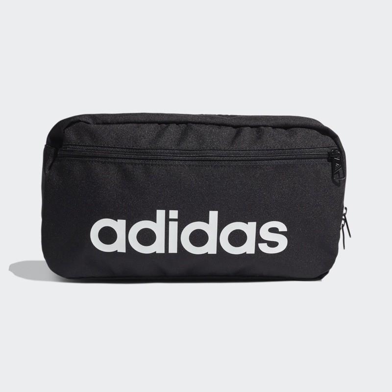 [Adidas] 新款 運動休閒大腰包 斜背包 側背包 黑 GN1944《曼哈頓運動休閒館》