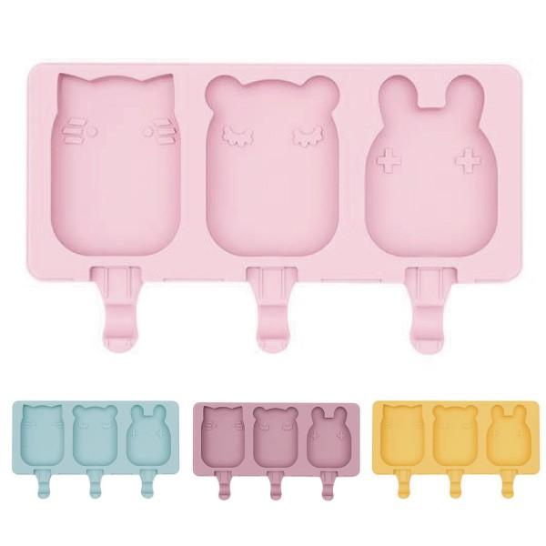 澳洲 We Might Be Tiny 矽膠動物冰棒盒(4色可選)【麗兒采家】