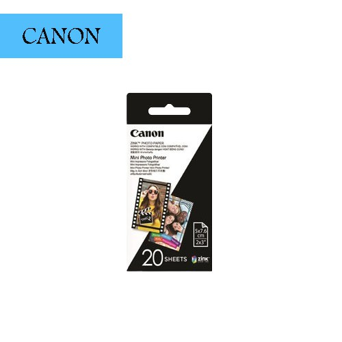 Canon ZP-2030-20  Zink 2x3 迷你相印機 相紙 適用Canon PV-123 Min 相印機