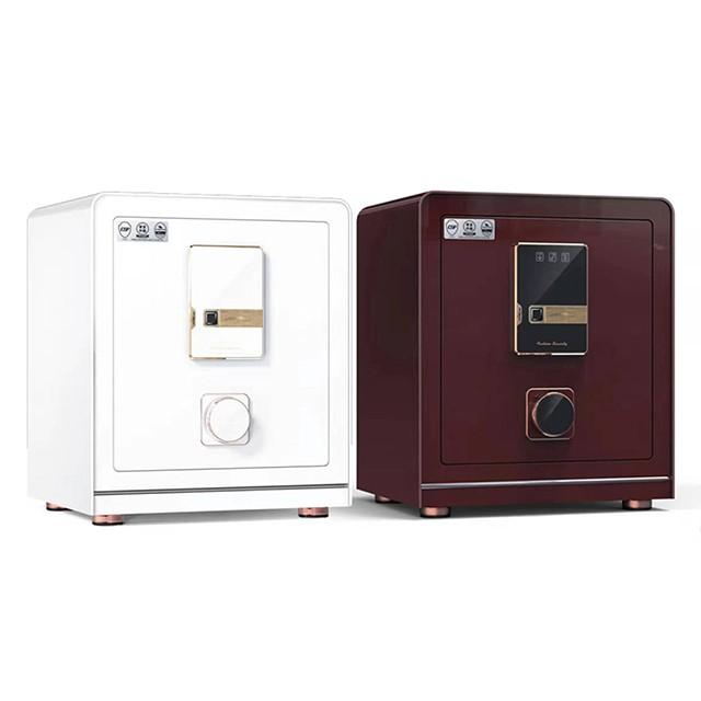 吉祥Plus雙認證開鎖精品保險箱(55MWC+)棕