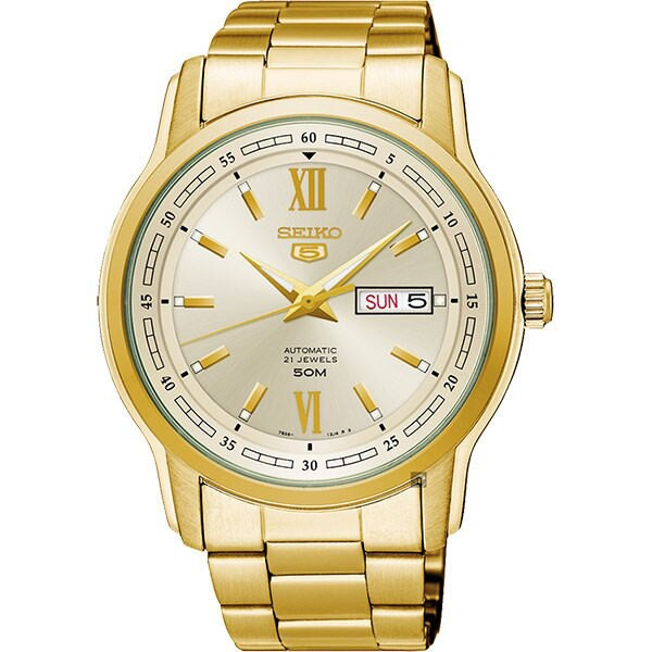 Seiko 精工錶 7S26-04T0K(SNKP20J1) 經典機械腕錶/金 42.3mm