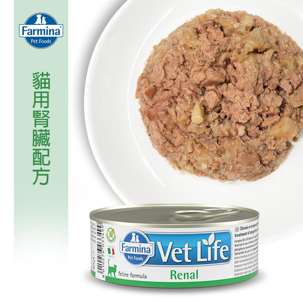 【Farmina 法米納】貓用天然處方罐-腎臟配方 FC-9031 85g