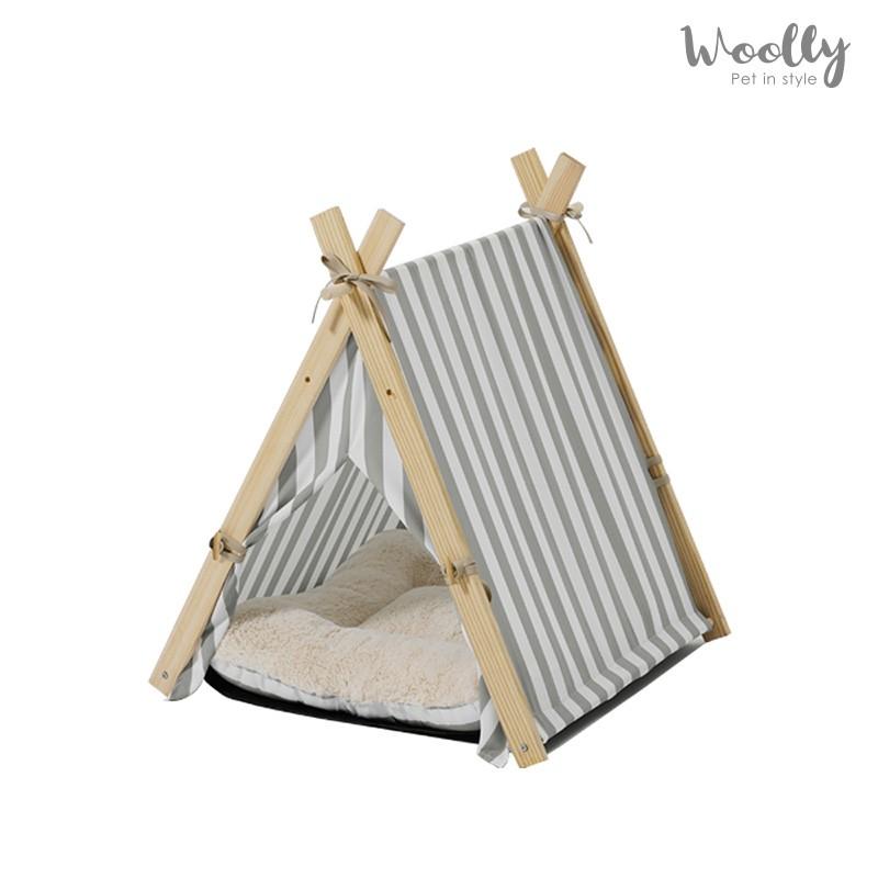 WOOLLY 韓國艾希塔寵物帳篷 MH家居 寵物帳篷 寵物床 寵物窩 [免運]
