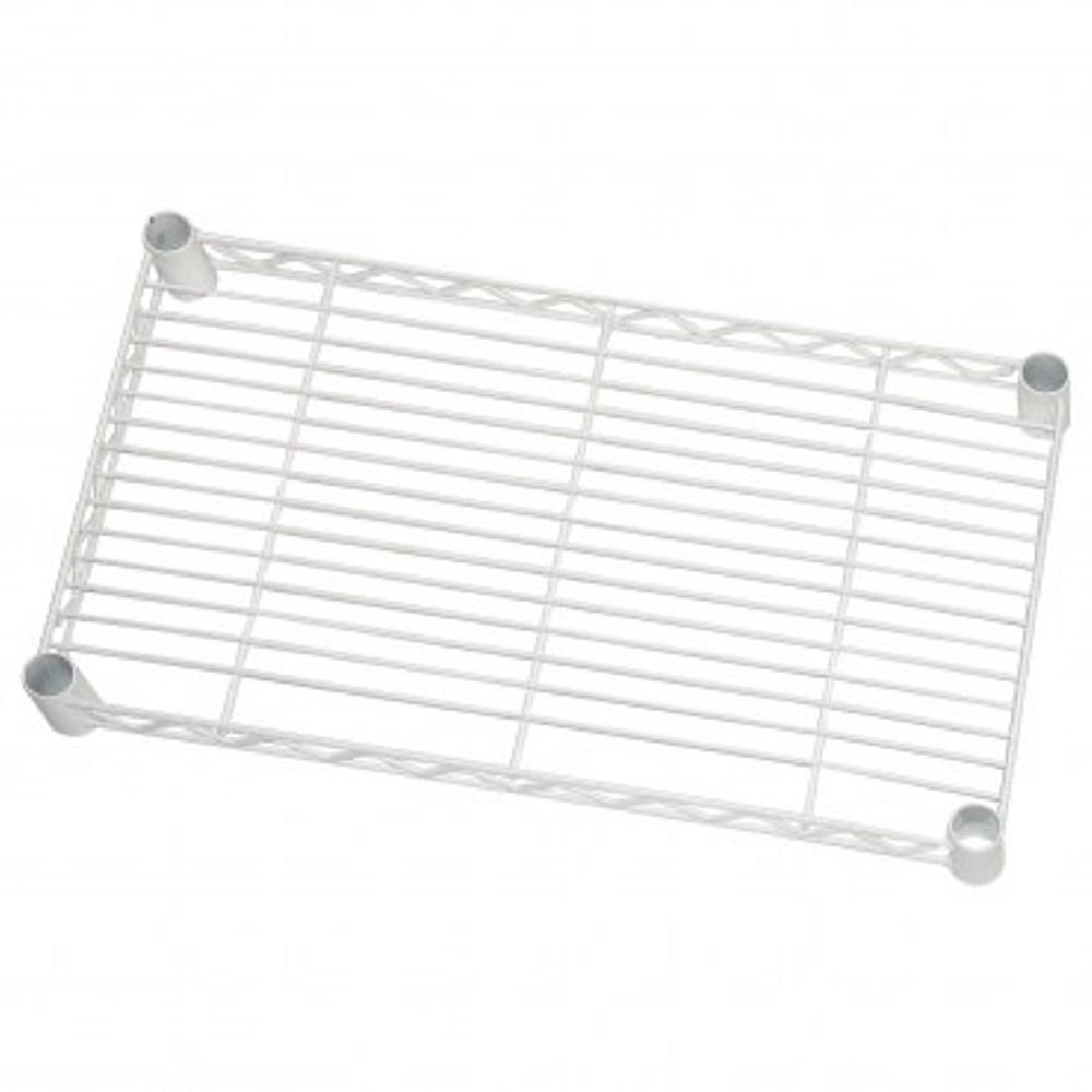 特力屋 烤漆鐵網 60x35cm 白色款