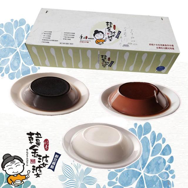 韓金婆婆 豆腐奶酪(鮮奶/杏仁/可可/芝麻) 6入/12入 府城伴手禮 甜點 廠商直送