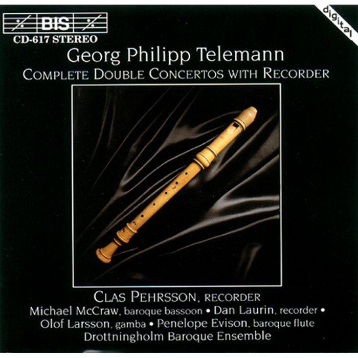 (BIS) CD0617 佩爾松 丹羅林 泰利曼 雙重協奏曲 Pehrsson Laurin Telmann