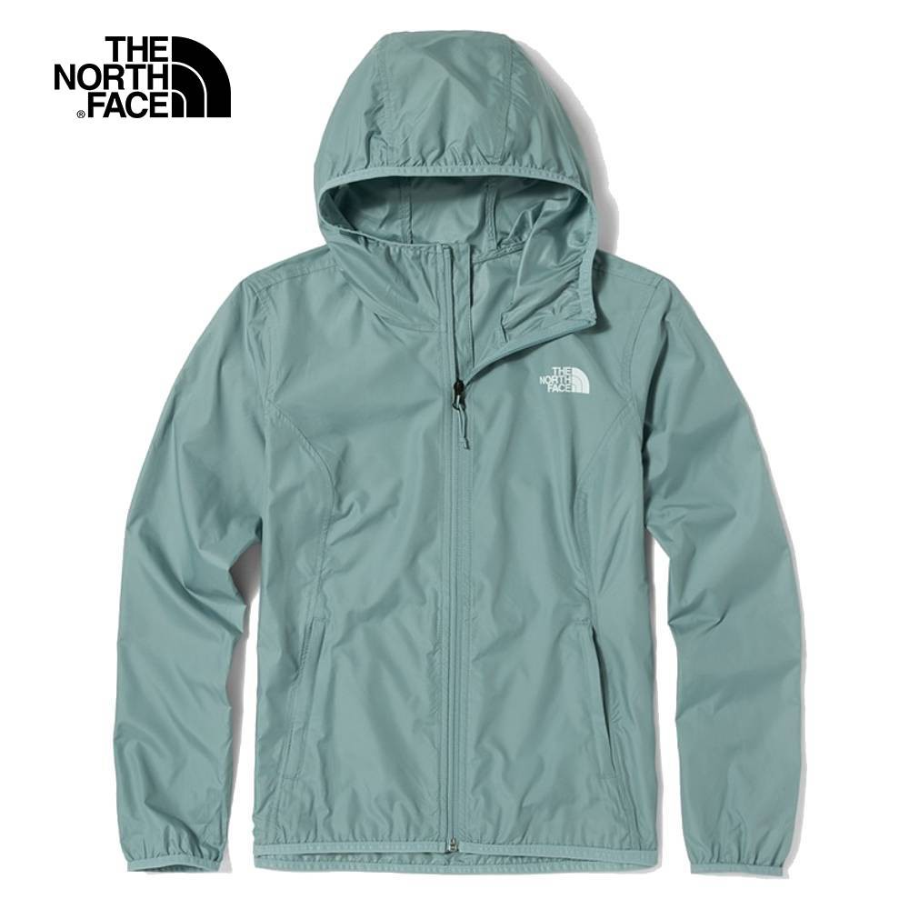 The North Face W MFO PF WIND JACKET 女 風衣外套 綠 NF0A4NEJBDT