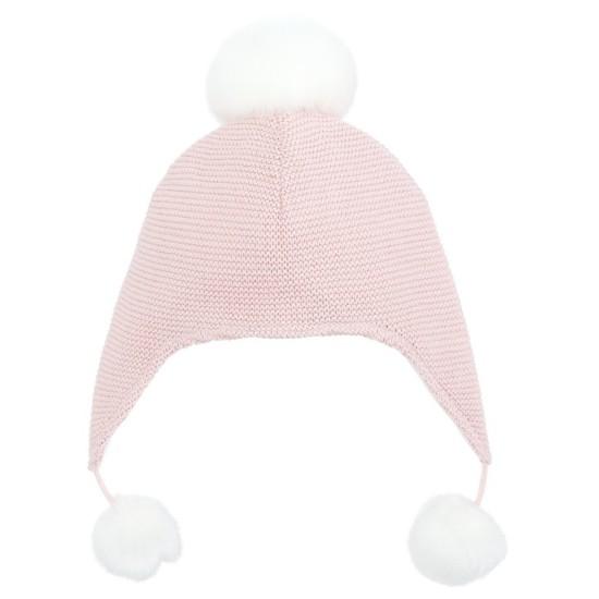 美國 Elegant Baby  針織嬰兒帽(粉紅)