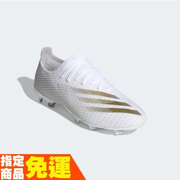 ADIDAS 草地足球釘鞋 足球鞋 全尺寸 X GHOSTED.3 EG8193 白銀 贈1襪 20FW【樂買網】