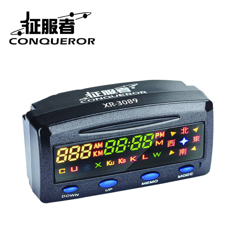 【免運現貨】征服者 XR-3089 固定點GPS測速器 單機版