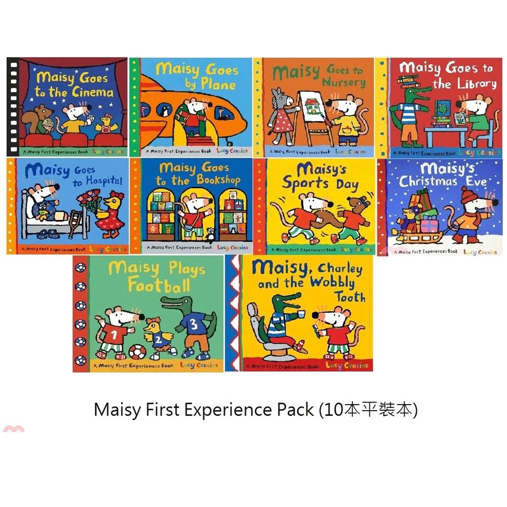 Maisy First Experience Set (10平裝本)【三民網路書店】[31折]