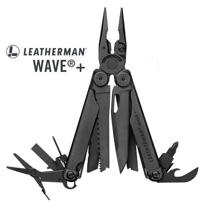 Leatherman Wave Plus 工具鉗-黑色 【型號】832526 (黑尼龍套) 【登山屋】