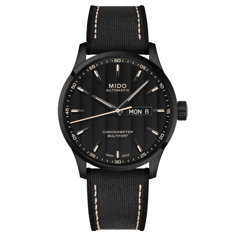 MIDO美度 M0384313705100 / 先鋒系列天文台認證機械腕錶 / 動力儲存80小時 / 42mm