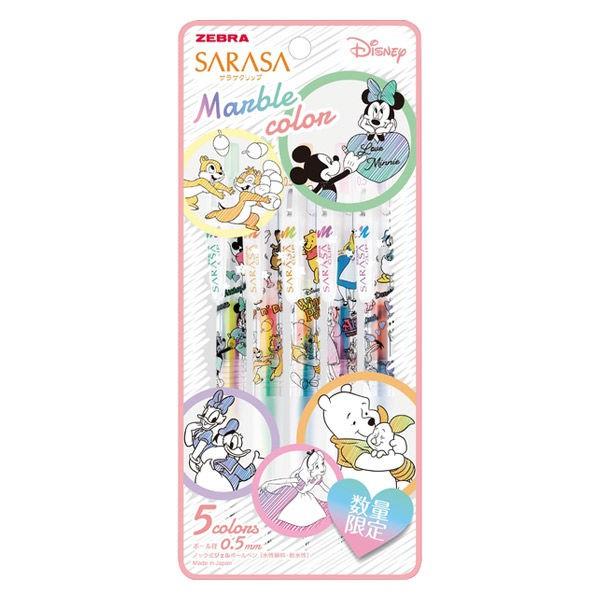 ZEBRA SARASA 迪士尼 不思議三色混色筆套組 X371825