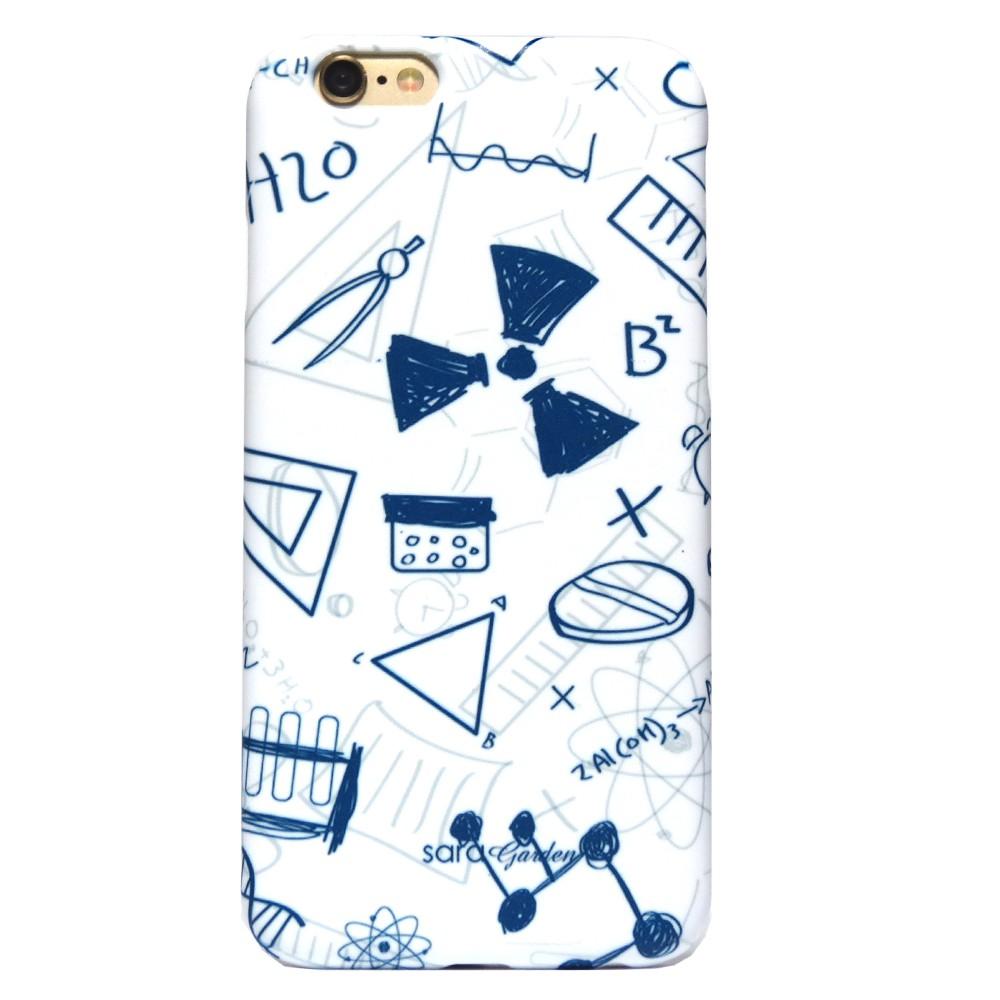 SaraGarden 客製化 iPhoneXS/XR/8/7/6S/6手機殼【多款手機型號提供】插畫科學物理
