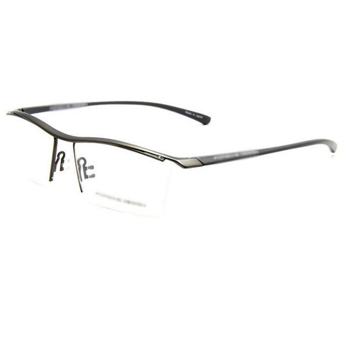 眉線框 P8189 近視眼鏡框運眉線框TR91專櫃正品Hemu Glasses近視眼鏡眼鏡框架男動眼鏡半框KIMM