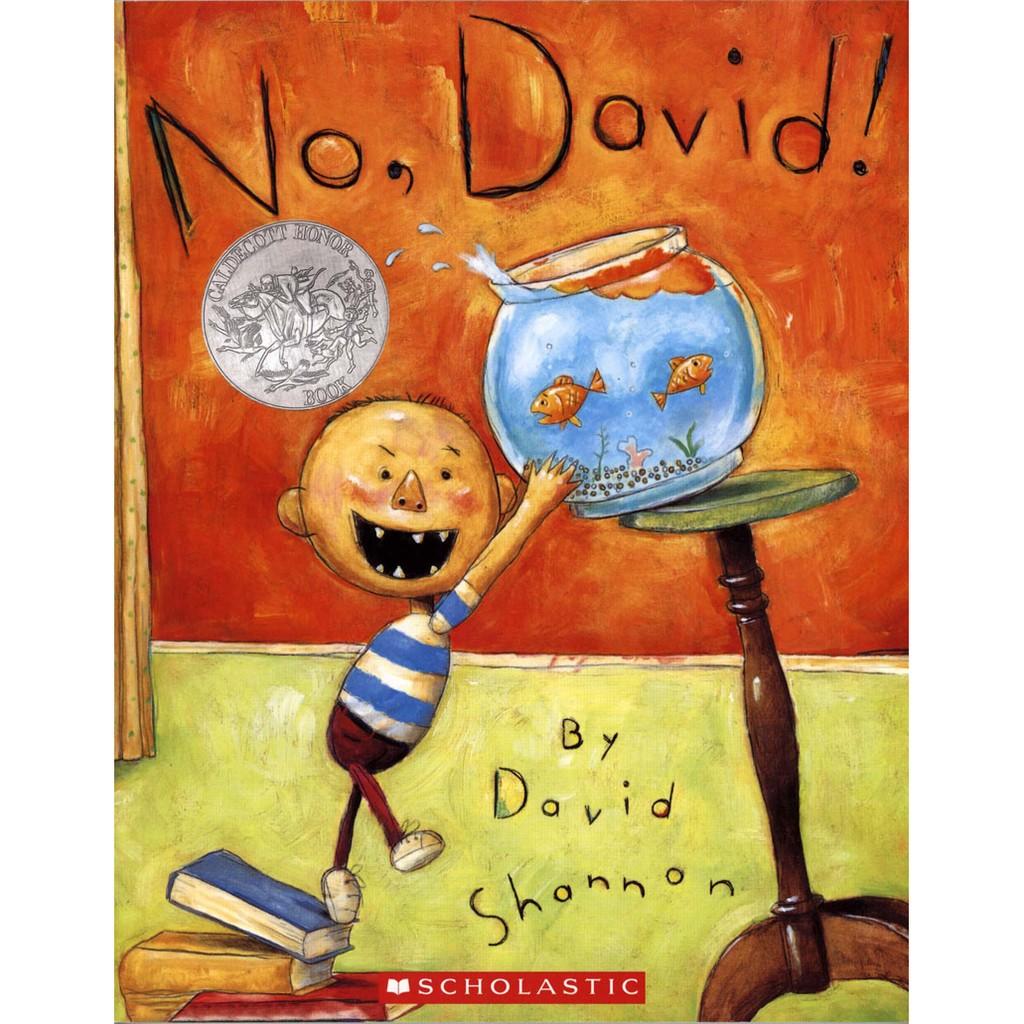 【麥克書店】NO DAVID|小毛,不可以 英文繪本故事書原文書外文書大衛夏儂