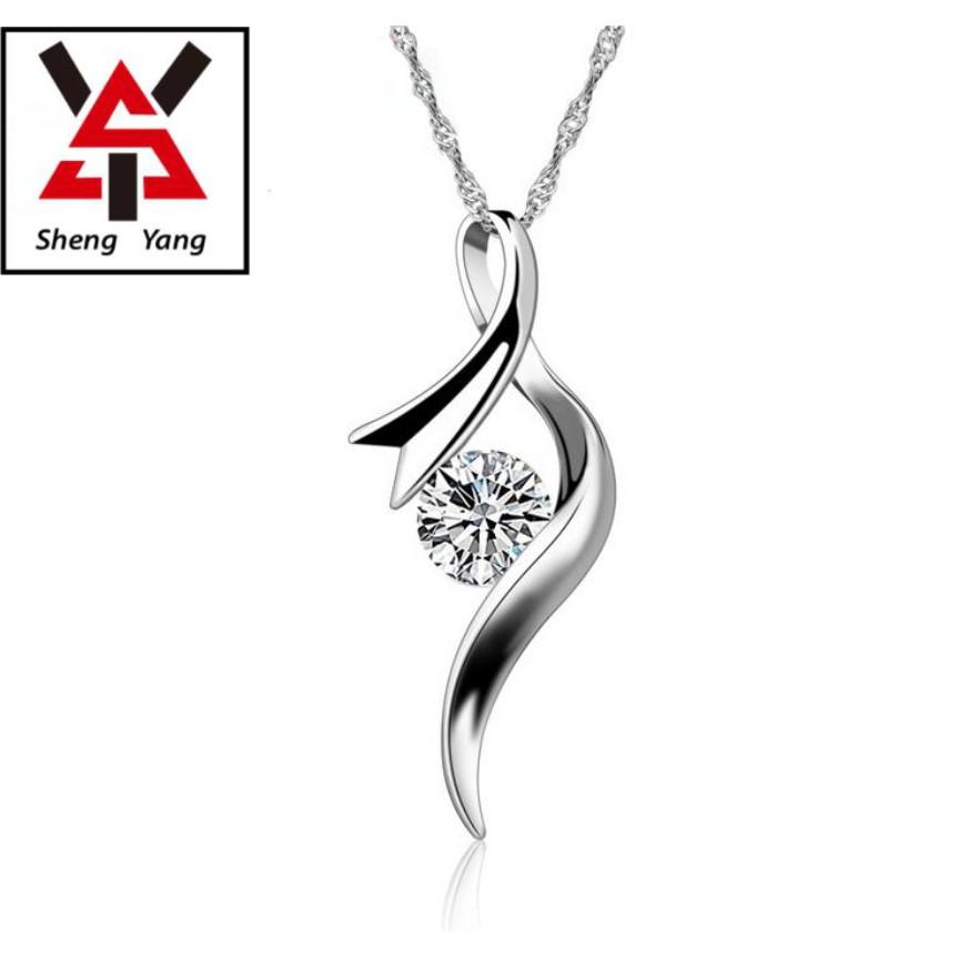 【S.Y】925純銀時尚簡約鎖骨項鍊