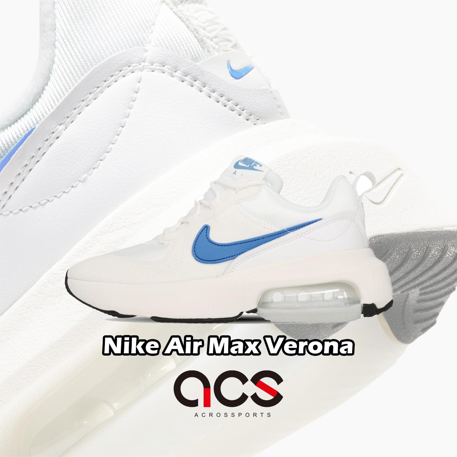 【ACS】Nike 休閒鞋 Wmns Air Max Verona 白 藍 女鞋 厚底 氣墊 CZ6156-101