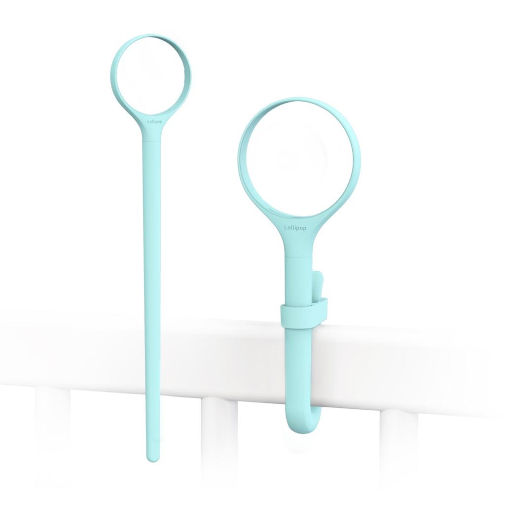 棒棒糖換色矽膠環柄30cm(土耳其藍)