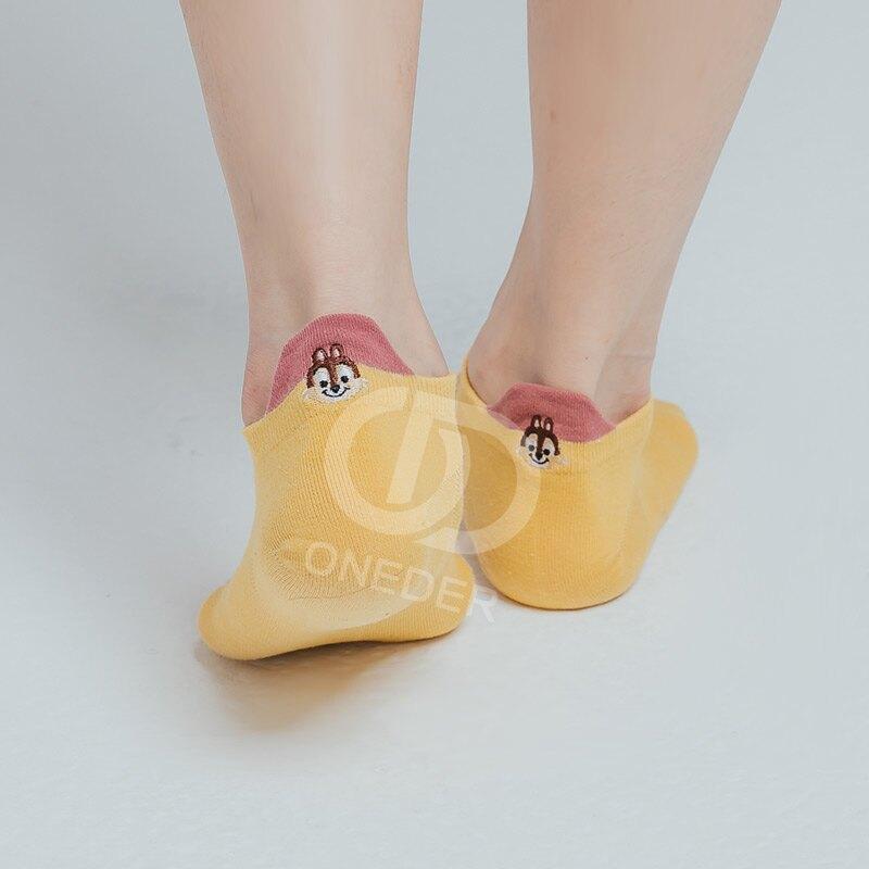 Disney 玩具總動員 熊抱哥刺繡船襪 TO-A103 【ONEDER旺達