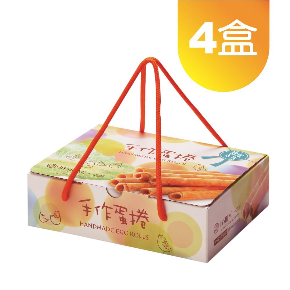 【一之軒】12入手作蛋捲禮盒 4盒