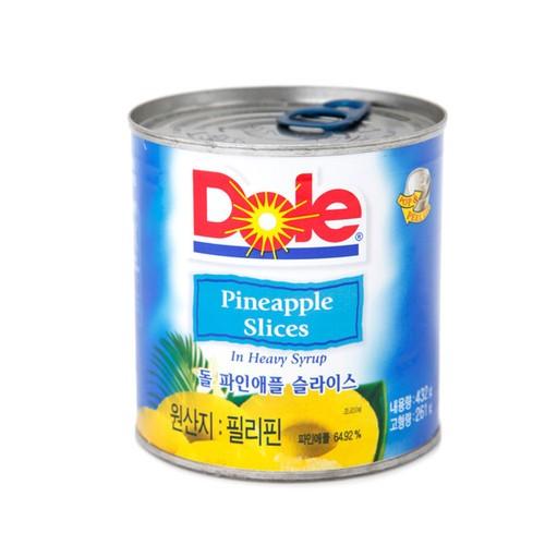 [Dole] 鳳梨切片罐頭 432g [韓國直送]