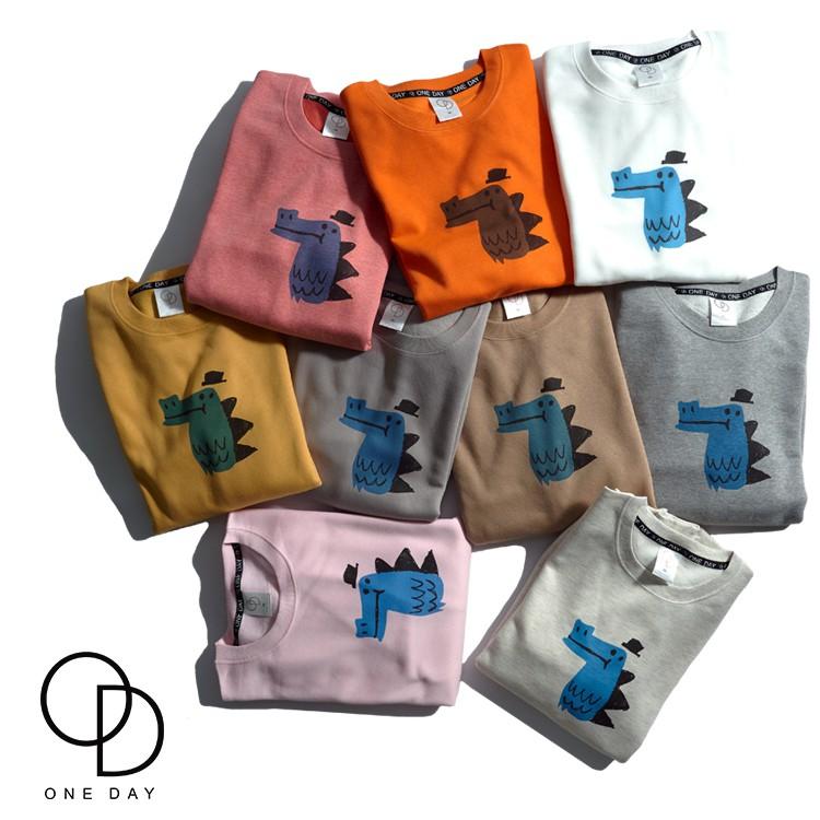 ONE DAY 台灣製 260C412 素色大學T 男生長袖T恤 大學T恤 長T 大學T 長袖T恤